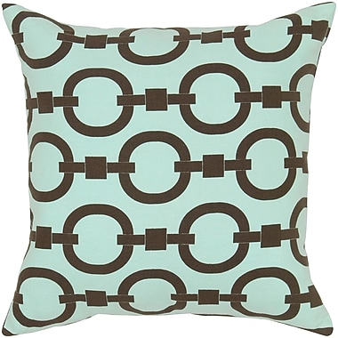 Wildon Home Charish Cotton Pillow Cover; Blue