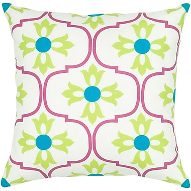 Wildon Home Charisha Cotton Pillow Cover; Pink
