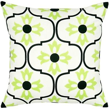 Wildon Home Charisha Cotton Pillow Cover; Black