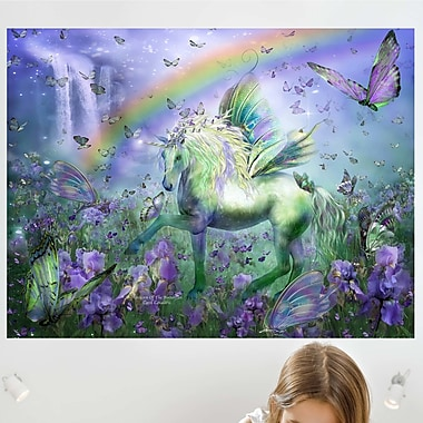 Wallhogs Cavalaris Unicorn of The Buttys Wall Mural; 18'' H x 24'' W