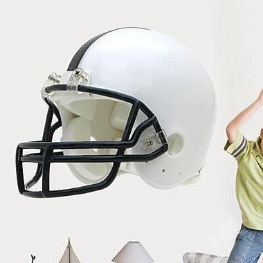 Wallhogs Football Helmet Cutout Wall Decal; 20'' H x 24'' W