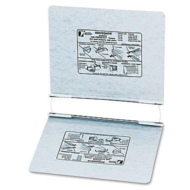 Acco® Hanging Data Binders Presstex® Cover, Dark Gray, 11