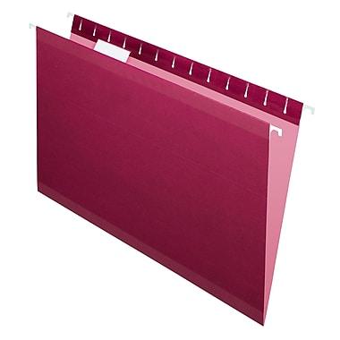 Pendaflex® - Chemises suspendues de luxe Reversaflex®, format légal, 8 1/2 po x 14 po, bourgogne