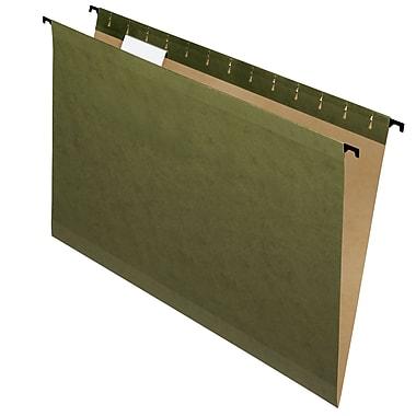 Pendaflex® - Chemises suspendues SureHook®, format légal, 8 1/2 po x 14 po, vertes