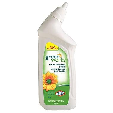 Clorox ® Nettoyant pour cuvette Green Works, 709 ml, 12 paquets/boîte