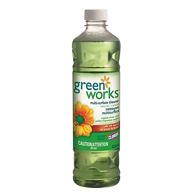 Clorox Green Works Dilutable Cleaner, 828 mL, 12 Packs/Case