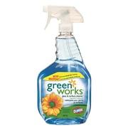 Clorox – Nettoyant pour verre et surfaces Green Works, 946 ml, 12 paquets/boîte