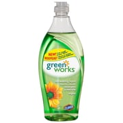 Green Works® Dishwashing Liquid, 650 mL, Original Scent, 12/Pack (CL01123)