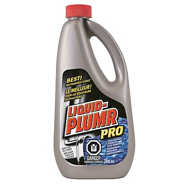 Liquid Plumr Drain Clog Remover 900 mL, 9/Pack