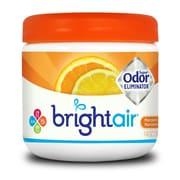 Éliminateur d'odeurs puissant Bright Air, parfum mandarine et citron frais, 365 g, 6 paquets/boîte
