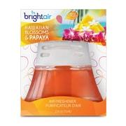 Assainisseur d'air non électrique à l'huile parfumée Bright Air, parfum hawaïen et papaye, 6 paquets/boîte