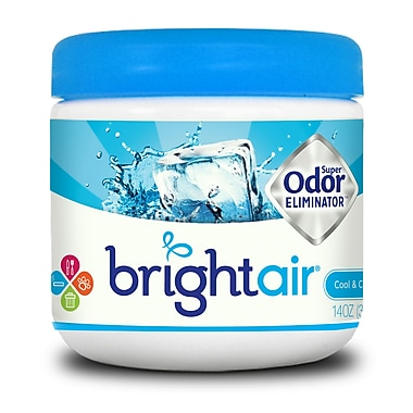 Bright Air Cool & Clean Scent Super Odor Eliminator, 6 Packs/Case