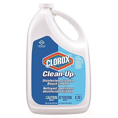 Clorox Commercial Solutions® Clean-Up® Disinfectant Cleaner, 3.78 L, 4/Pack (CL01172)