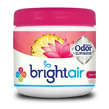 Bright Air Island Nectar & Pineapple Scent Super Odor Eliminator, 6 Packs/Case