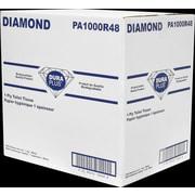 Dura Plus 1 Ply Bathroom Tissue 1000 Sheets/roll, 48 Rolls/Pack