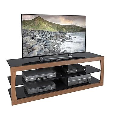 CorLivingMC – Meuble pour téléviseur jusqu'à 70 po TSL-323-T de la collection Santa Lana, imitation teck