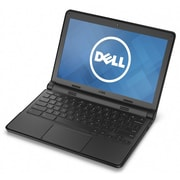 "Refurbished Dell 11-3120 11.6"" LCD Intel Celeron N2840 16GB 4GB Chrome OS Laptop Black"