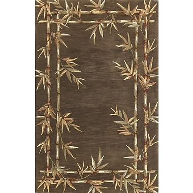 KAS Rugs Sparta Bamboo Brown Area Rug; 8'6'' x 11'6''