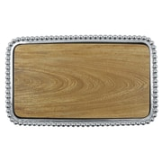 Mariposa String of Pearls Pearled Small Cheese Board