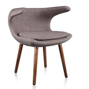 Ceets Clipper Lounge Chair; Gray