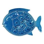 Urban Trends Ceramic Fish Platter