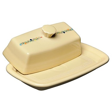 Fiesta Christmas Tree Covered Butter Dish