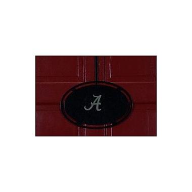 HensonMetalWorks NCAA Collegiate Logo Classic Door Hanger; University of Alabama