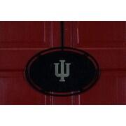 HensonMetalWorks NCAA Collegiate Logo Classic Door Hanger; Indiana University