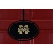 HensonMetalWorks NCAA Collegiate Logo Classic Door Hanger; Mississippi State University
