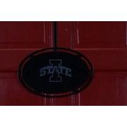 HensonMetalWorks NCAA Collegiate Logo Classic Door Hanger; Iowa State University