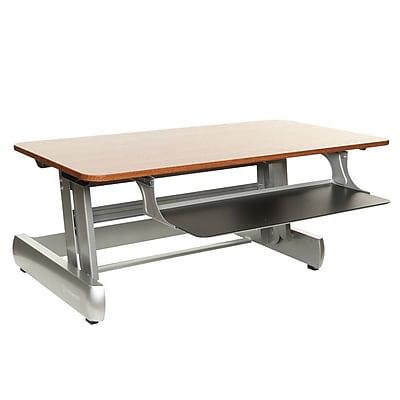 InMovement Standard Sit Stand Desk Light Wood IMLTDESKREADY01