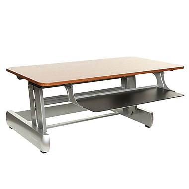 InMovement Standard Sit & Stand Desk, Light Wood (IMLTDESKREADY01)