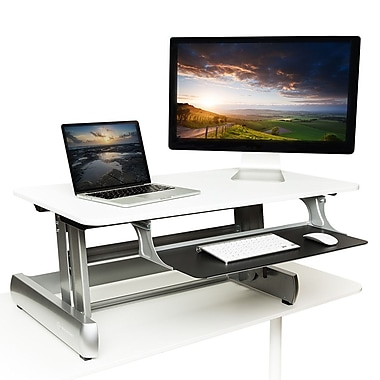 InMovement Standing DeskTop, White