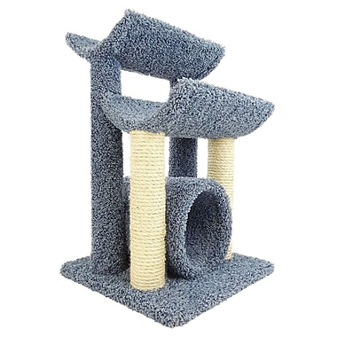 New Cat Condos 29'' Premier Cat Tree; Blue