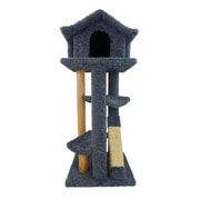 New Cat Condos 46'' Premier Cat Pagoda Tree; Blue