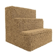 New Cat Condos Premier Pet Stairs; Brown