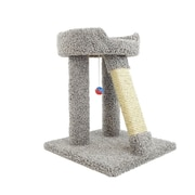 New Cat Condos 24'' Premier Elevated Cat Perch; Gray