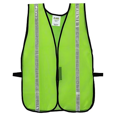 Cordova V111W High Visibility Lime Mesh Safety Vest with 1