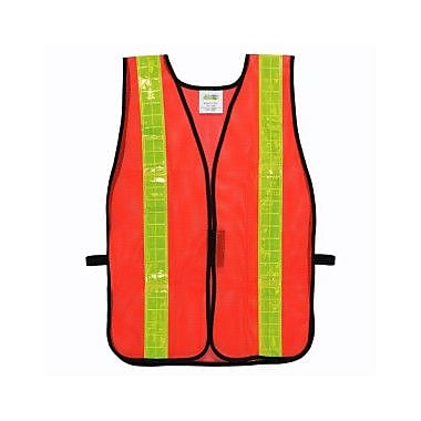 Cordova V120L Non-Rated Orange Mesh Vest with 2