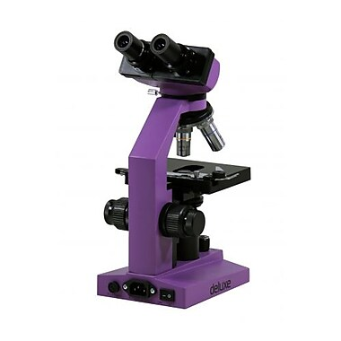 ISG® Binocular Deluxe Microscope, Purple