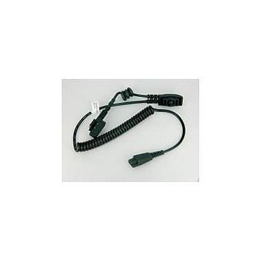 Honeywell Accessory for Hx2, Cable, Battery + Audio, Battery Is 3 In, Audio Is 16 In, Both Coiled, Keyed for Use with Hx1501He
