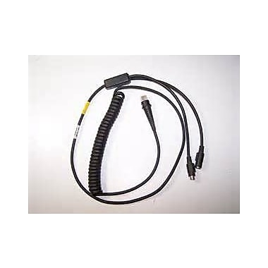 Honeywell 9Pin, Din, Wand, Emulation Cable, with Lock for 3000, Non-Standard, Non-Cancelable/Non-Returnable