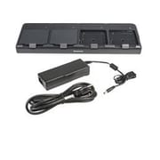 Honeywell CT50, Quad Battery Charger for Recharging Upto 4 Batteries. Kit Includes Dock, Power Supply, Power Cord.