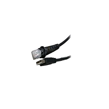 Honeywell Cable, USB, Black, Type A, Straight, 5V External Power, Non-Standard, Non-Cancelable/Non-Returnable