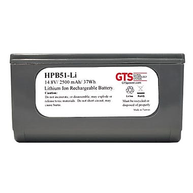 Gts, Intermec Pb50/Pb51, Battery Replacement, Li-Ion, 2500 Mah, 14.8V, Oem Pn 318-026-001