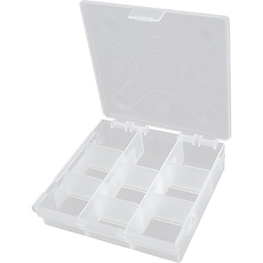Compartment Case, TLZ117, No. of Compartments - Variable up to 9, 36/Pack