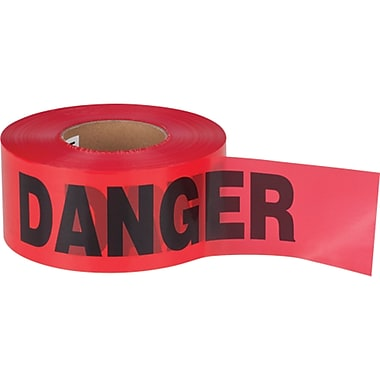 Barricade Tape, SEK402, Thickness - 2 mils, 12/Pack