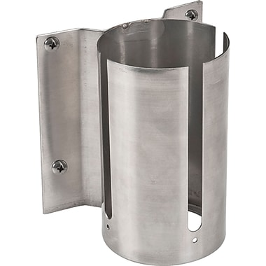 Build Your Own Crowd Control Barriers - Wall Mounts, SEC497, Style - Stainless Steel, 5/Pack
