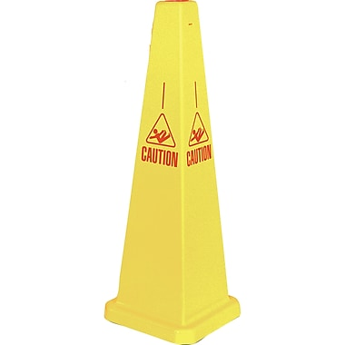 Lamba Traffic Cones, NC673, Base Dimensions - 12