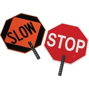 Stop Sign Municipal Traffic Sign, SEI475, Material - HDPE, 2/Pack
